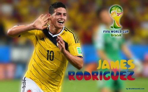 James Rodriguez Wallpaper